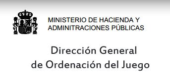 Logo Dirección General de Ordenación del Juego