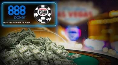 888 es patrocinador oficial de las World Series of Poker® 2015