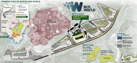 Primera fase de BCN World
