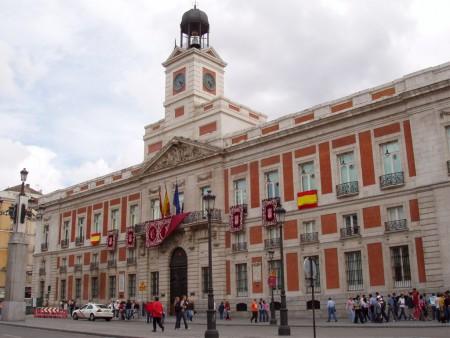 La Real Casa de Correos, sede de la Comunidad de Madrid