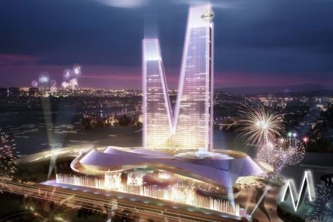 Recreación del proyecto del complejo Eurovegas en Alcorcón