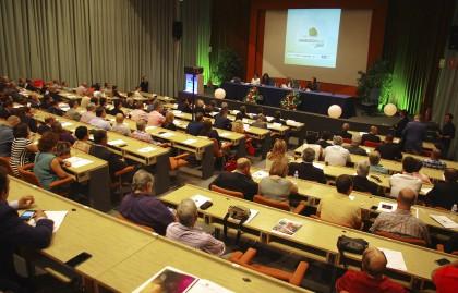Salón de conferencias del ExpoCongreso Andaluz del Juego
