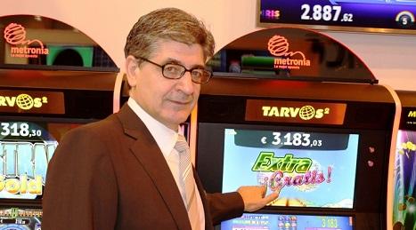 Félix Sánchez, presidente de Metronia