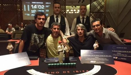 Finalistas de la Liga póker del Casino de Ibiza